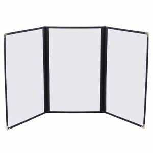 30pcs Menu Covers 3 Page 6 View 8 5x14 Fold Book For Restaurant Hotel Cafe Bar