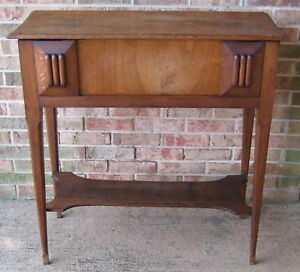 Arts Crafts Mission Oak Library Stand Table Stickley Excellent Condition