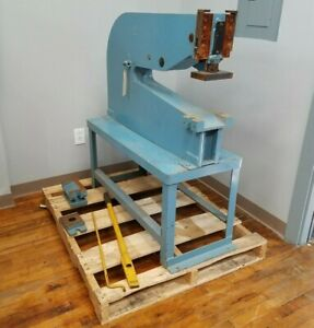 Roper Whitney Model 34 Manual Punch Press Metal Working Tools Lever Can Ship