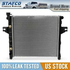 Radiator For 2001 2004 Jeep Grand Cherokee Laredo Limited Overland V8 4 7l