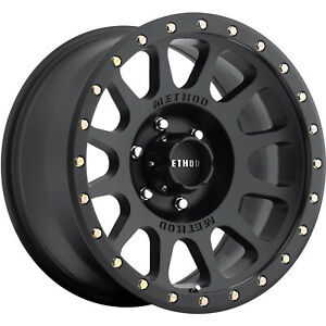 17x8 5 Black Method Nv Wheels 6x5 5 0 Chevrolet K 1500 K 2500 6 Lug C 2500