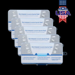 Us 5x Dental Aesthetics Mini Orthodontic Accessories Injection Mould Quick Built