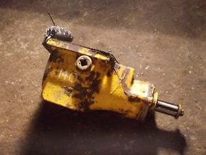 International 140 Tractor Belt Pulley Drive Assembly W Drive Gear