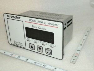 High Purity Oxygen O Analyzer Ceramatic Model 3100 n1