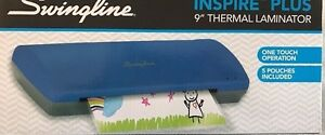 Swingline Inspire Plus Thermal Laminator 9 Max Width Quick Warm up new 1701801