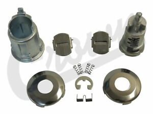 Lock Cylinder For Jeep 1993 To 1994 Yj Wrangler Xj Cherokee Zj Grand Crn 4720931