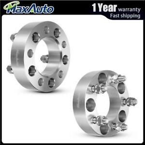 2 1 5 Silver Wheel Spacers Adapters 5x4 5 To 5x4 5 For 2011 2002 Jeep Liberty