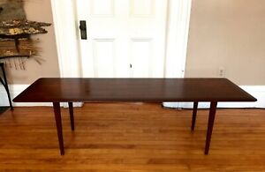 Mid Century Modern Wood Coffee Table L 60 Dansk