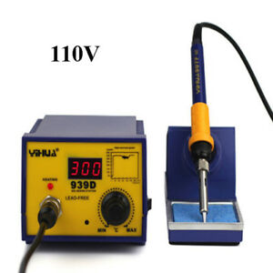 Hot 939d 110v 60w Electric Smd Station Soldering Solder Iron Welding Tool Welder