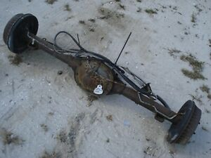 51k Miles 4 10 Gt5 Drum Brake Rear End Axle Chevy S10 Truck Sonoma 55 Long 2wd