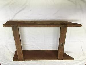 Antique Vintage Homemade Child S Wood Sled Or For Moving Firewood Or Feed
