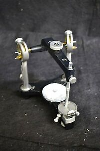 Great Used Dental Laboratory Articulator For Occlusal Plane Analysis 73293