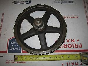 Vintage Prentice Metal Lathe 130 Tooth Change Gear 1 1 4 Bore 7 8 Thick 5 8