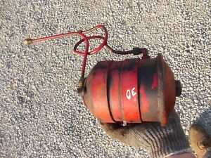 Cockshutt 30 Tractor Cs30 Oil Filter Holder Container Line Lines