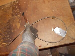 Ihc Cub 154 Lo Low Boy Tractor Ih Good Working Throttle Cable W Handle