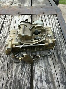 Holley Ford Marine Carb E8jl 9510 Ca 50463 Vaccum Secondary 4160 600 Cfm