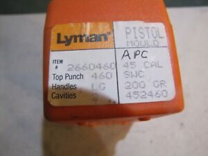 Lyman 452460 Double Cavity 45acp Target Bullet Mold Lead Bullet Casting Mould