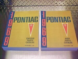 Pontiac Master Parts Catalog 60 To 1969 Or 1970 Or 1971