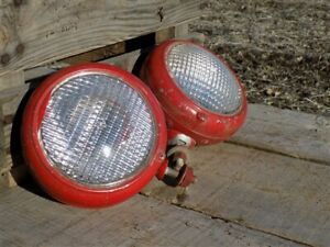 2 Ge Tractor Lights Ihc International Farmall Vintage Agricultural Tractor Parts