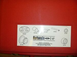 Ford Rotunda Tkit 2005 D2 F Differential Bearing Race Remover Special Tool Set 3