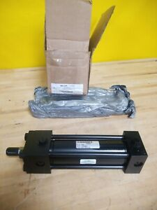 Miller 4z639 Double Acting Tie Rod Hydraulic Cylinder 2 Bore 6 Stroke