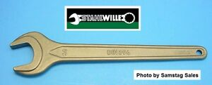Stahlwille Germany 30 Mm Single Open End Metric Wrench 4004 30 Type Din894