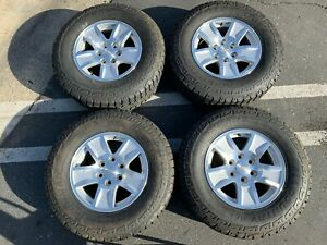 2018 Chevy Silverado Tahoe 1500 Factory 17 Wheels Tires Rims Oem 5657 Suburban