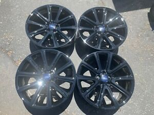 Four 2015 Ford Explorer Factory 20 Wheels Rims Oem 3994 Fb531007c1a Gloss Black