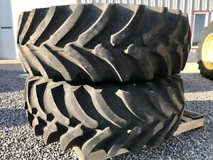 Firestone 16 9x26 Super All Traction 10 Ply Tires On 10 Hole Jd Wheels