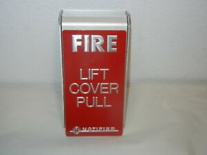 Notifier Fire Alarm Lift Cover Pull Cover Only