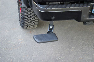 Amp Research Bedstep Rear Folding Step Ford F150 Raptor 2006 2014 Retractable
