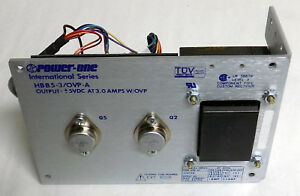 Power one International Model Hbb5 3 ovp a Output 5vdc 3 0 Amps Power Supply
