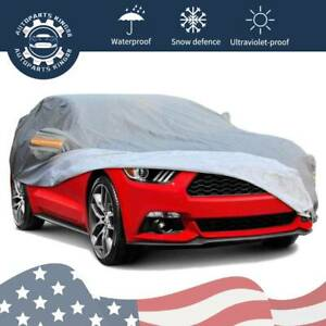 Fit For Ford Mustang Car Cover Suv Full Custom fit All Weather Protection