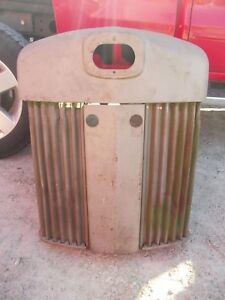 John Deere Tractor Orgnl Factory Jd Front Nose Cone Grill W Screen Screens