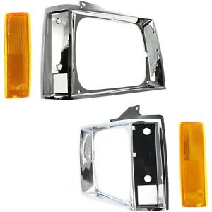 New Kit Auto Body Repair Driver Passenger Side For Chevy S10 Pickup S15 Jimmy