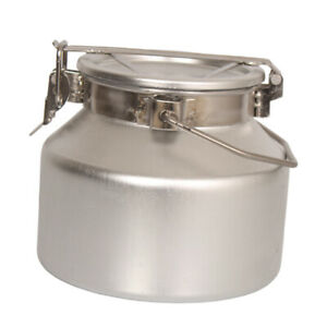 3l Aluminum Alloy Milk Can Dairy Transportation Equipment Churn Container