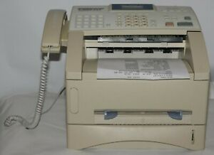 Brother Intellifax 4750e Fax Machine Page Count Under 12k With Toner