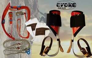 Tree Climbing Spike Set aluminum Pole Climbing Spurs Climber Harness Kit Glove