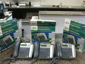 Lot 3 At t Small Business System s Speaker Phones Model 945 W Pwr Adapters