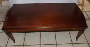 Mahogany Mid Century Hepplewhite Coffee Table