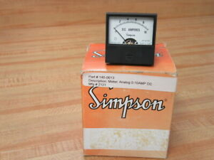 Simpson 2121 Dc Voltage Regulator