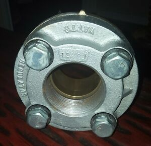 Watts 2 1 2 Di electric Flange Plate Union Fpt Copper Sweat Make An Offer