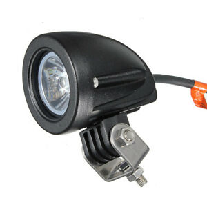 10w Led Work Light Spot Offroad Driving Fog Lamp Motorcycle Boat 4x4 Atv