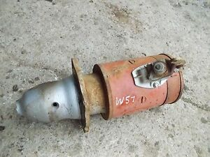 Farmall Super M Mta Ih Tractor Good Working Engine Motor Starter Assembly