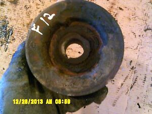 Farmall F12 F14 Tractor Ih Engine Motor Front Crank Crankshaft Main Pulley