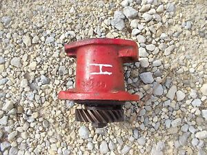Farmall H Hv Early Sh Tractor Orignl Ih Engine Motor Distributor Drive Assembly