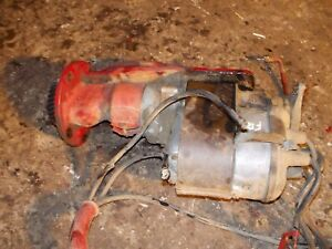 Farmall F12 F14 Tractor Orginl Ih Engine Motor Working Hot Spark Magneto