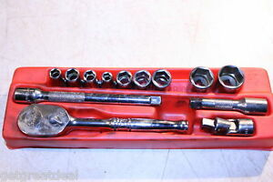 Snap on 1 4 Drive Inch General Service Set 114atmp