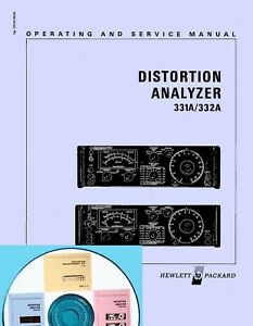 Service Manual For Hp 331a 332a 333a 334a 339a Distortion Analyzer