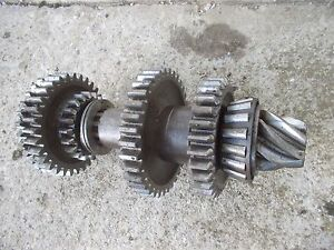 Case Vac Tractor Nice Original Main Drive Lower Gear Gears Shaft
